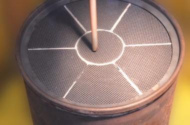 Reinigungsverfahren mit Druckluft. Automatisierte Vorreinigung.