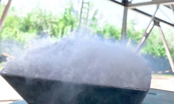 Reinigungsverfahren auf Basis von Trockeneis/Pellets