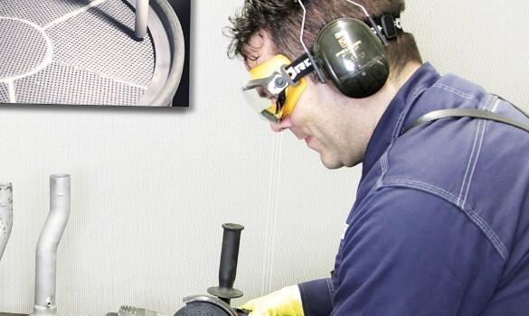 Isaac Ruiz - Werkstattmitarbeiter für Rußfilterreinigung