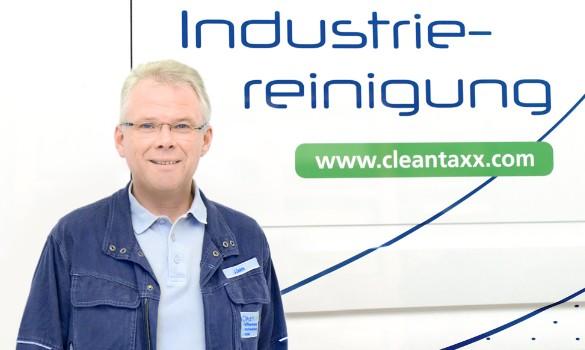 Jens Duhm - Serviceleitung für Industriereinigung