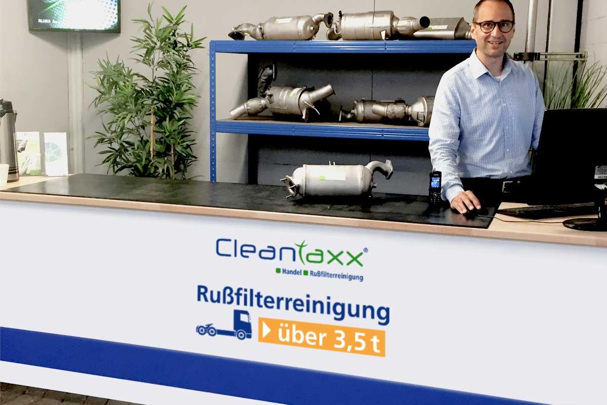 Annahmestelle Hannover-Langenhagen Russfilterreinigung