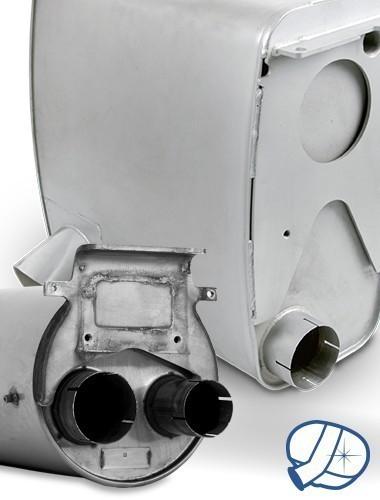 Gereinigter Katalysator EURO-5 MAN TGA/TGL