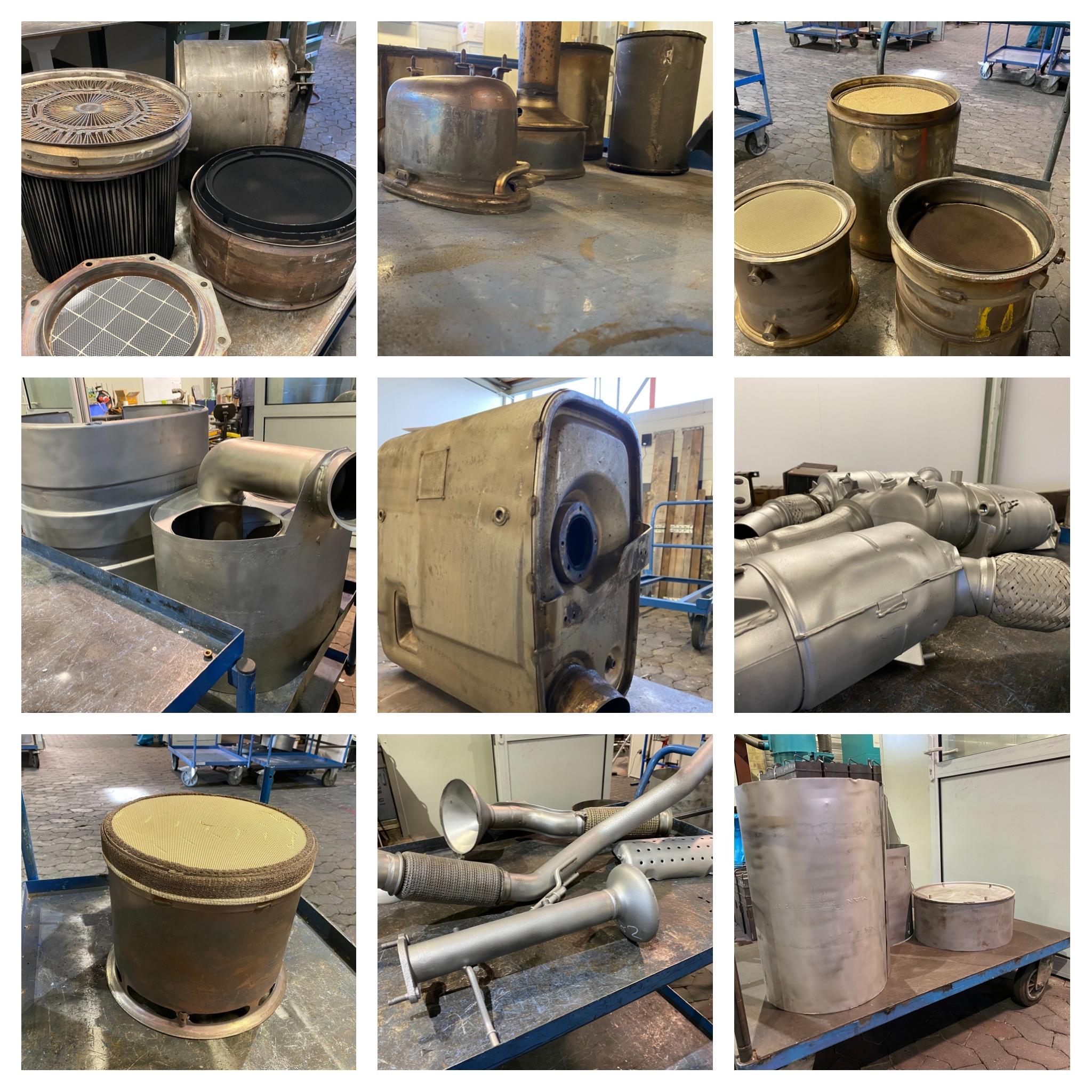 Partikelfilter, KAT Reinigung | Cleantaxx GmbH