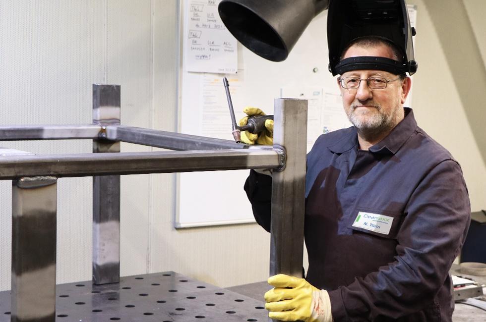 Nikolai Türin - Werkstattmitarbeiter für Schweißtechnik